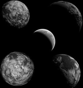 Free 5 planets brush