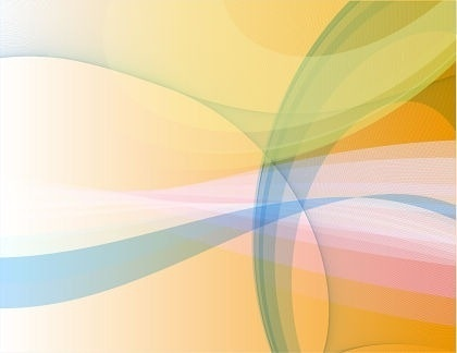 abstract background colored curved decoration