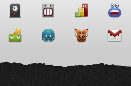 Free Android 2.x Monster Icons icons pack