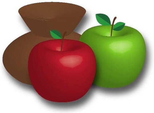 free apple food fruit vector graphics