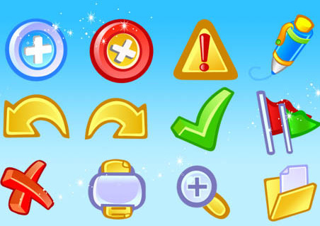 free application basic icons pack