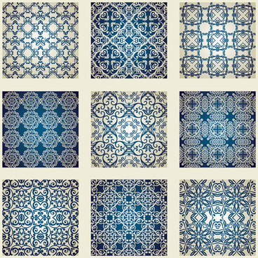 free blue patterns