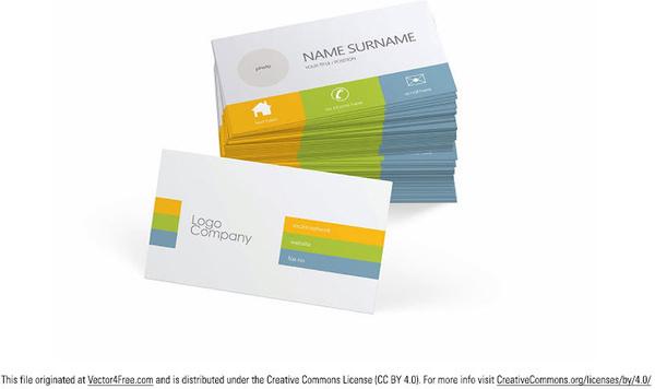 2017 business card calendar template free vector download 32439 free business card vector template wajeb Gallery