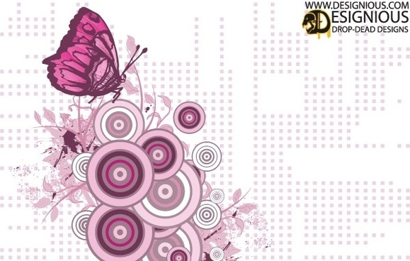 Free Butterfly Vector Illustration