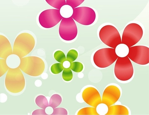 free colorful flower