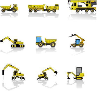 free construction machines pack