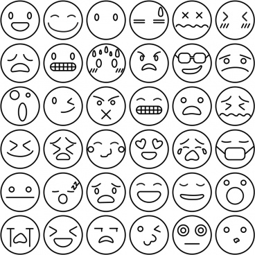 Emoji free vector download (5 Free vector) for commercial