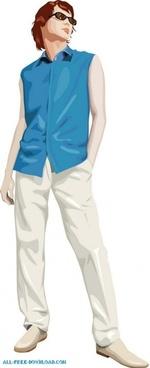 free fashion vector 491