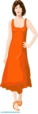 free fashion vector 493