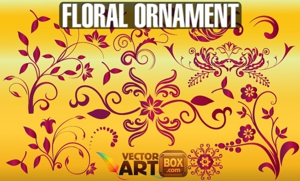 Free Floral Ornament