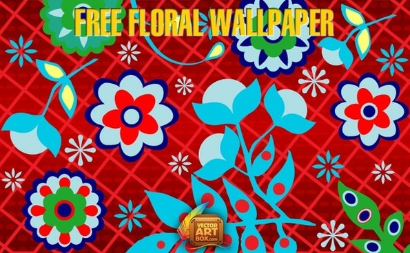 Free Floral Wallpaper