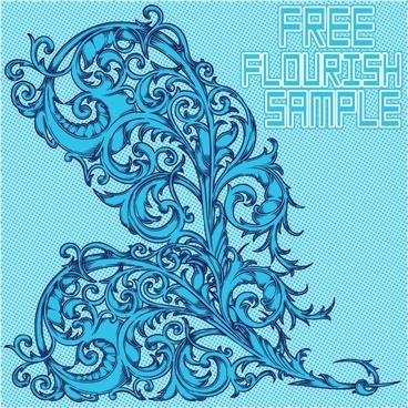 Free Flourish Sample