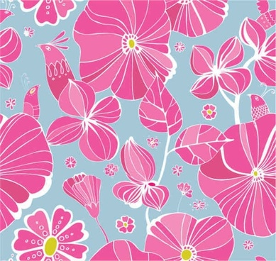 Free Flowers background
