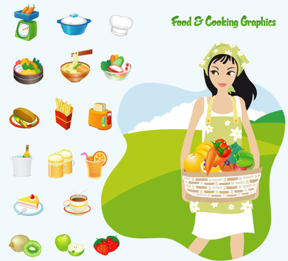 free food8 cooking vector graphics