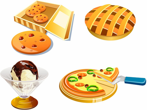 free food icon collection