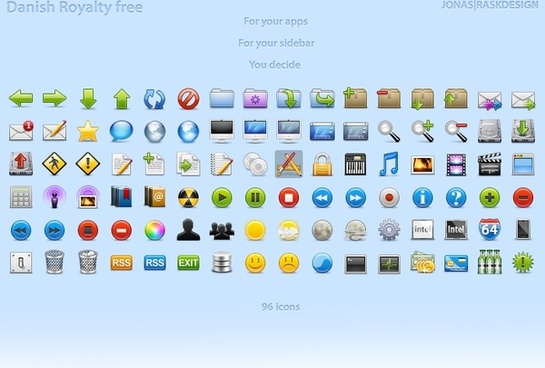 Free Icons for Developers icons pack