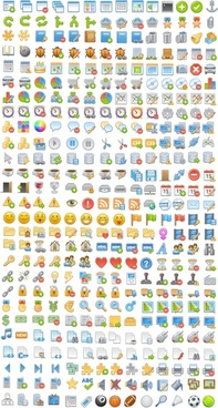 Free icons set icons pack