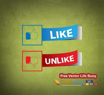 Free Like – Dislike Vector