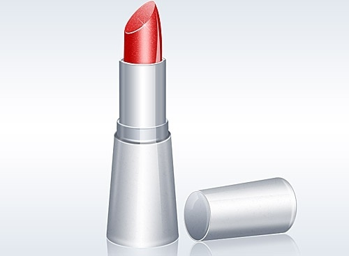 Free Lipstick Illustration PSD Icon