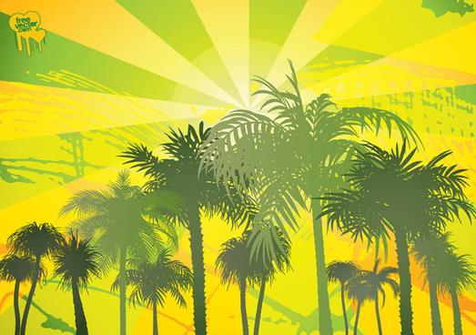 free palms vectors