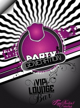 Free Party Flyer Background