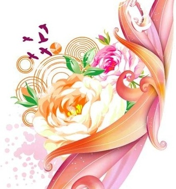 Free Pink Rose Vector Graphic