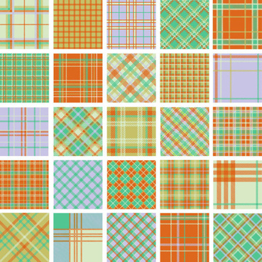free plaid pattern vector