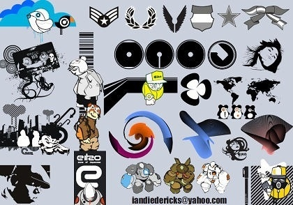 various icons collection different styles