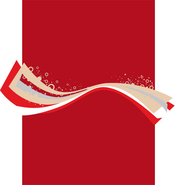 free red shades vector shapes