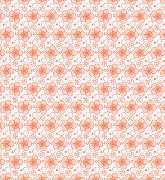 free seamless petal vector pattern