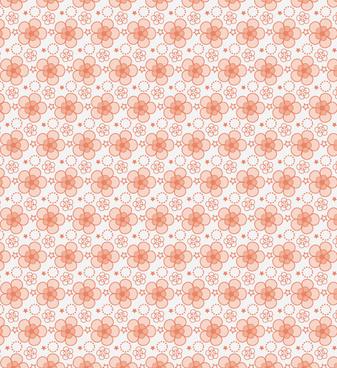 free seamless petal vector pattern