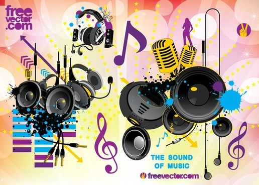 free sound vector graphics