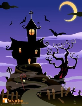 Free Spooky House Halloween