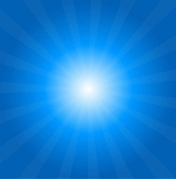 Free Sun Rays Vector Background