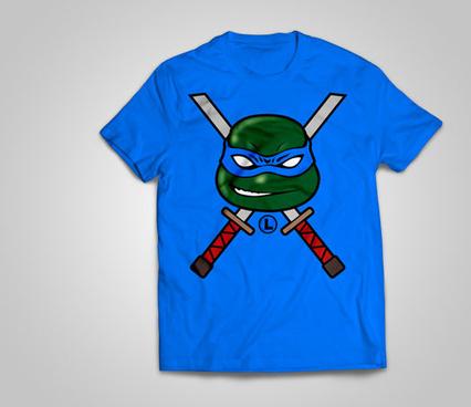 free teenage mutant ninja turtles tshirt designs