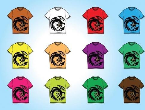 Free T-Shirt Templates Vectors