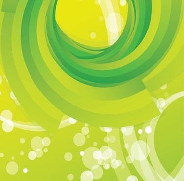 Free Vector Abstract Green Swirl Background