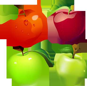 free vector apples downloads