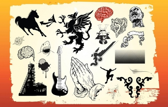 Free Vector Art Graphics Pack