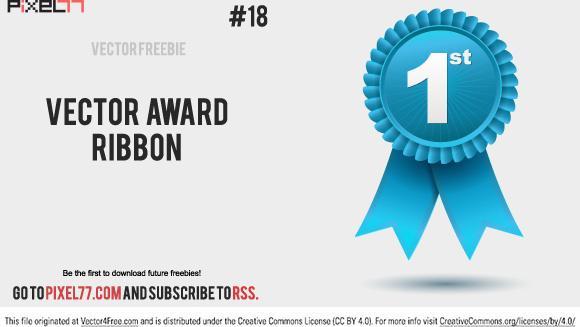 free vector award ribbon