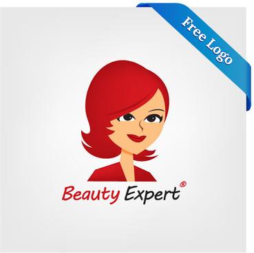 free vector beauty expert logo