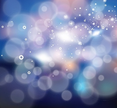 F ree Vector Bokeh Abstract Light Background
