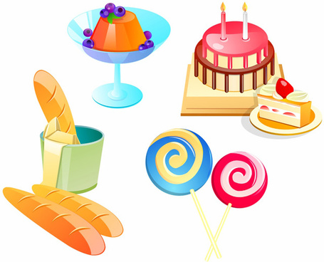 free vector cakes food graphics