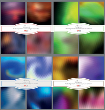 free vector colored blurred background vector