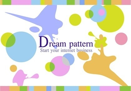 dream pattern background colorful abstract grunge style