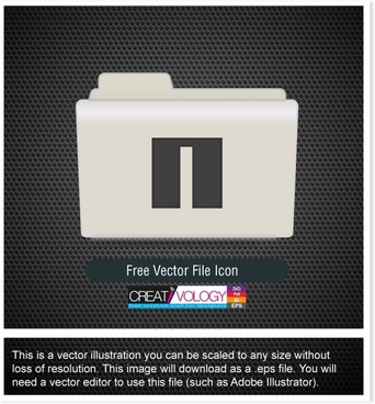 Free Vector File Icon