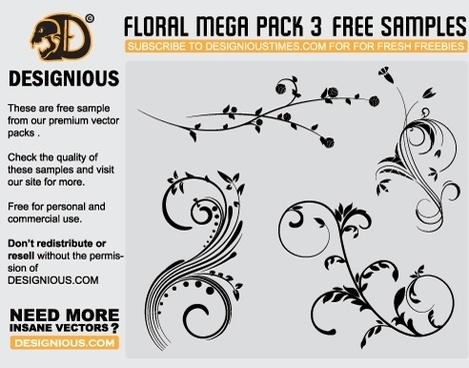 Free vector flourishes