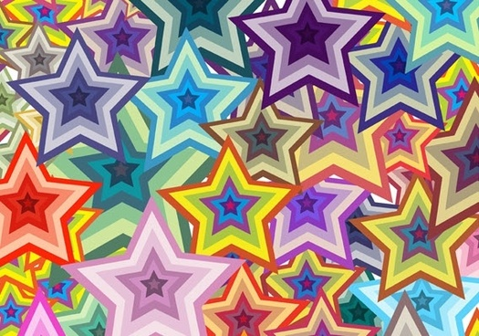 Free vector Free vector wallpaper - Star