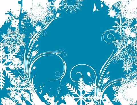 Free Vector Graphic Winter Swirls