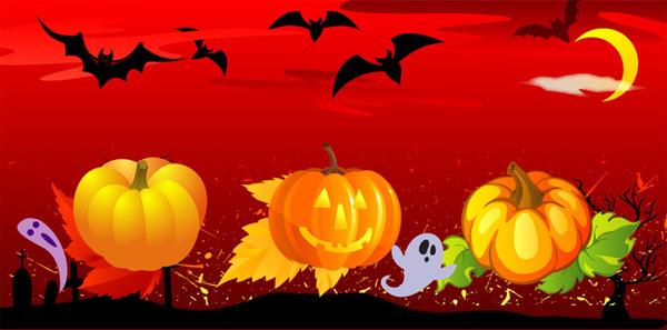 free vector halloween
